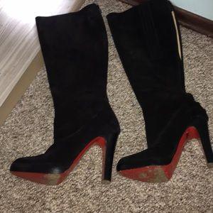 BIBI botta Louboutin boots